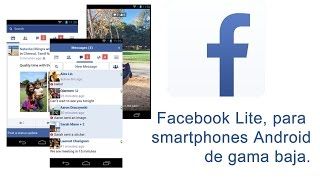App Facebook mas rapida android (facebook lite descarga)
