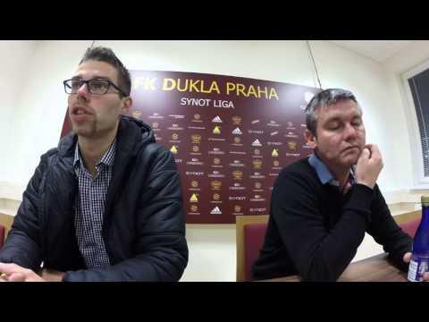 Tisková konference po utkání na Dukle (27.11.2015)