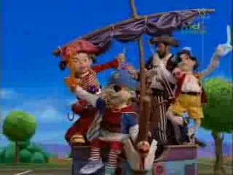LazyTown song - Youre A Pirate