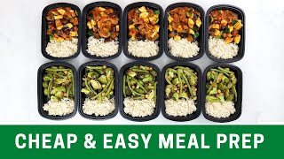 15 Meals in 60 Minutes - Easy Plant Based Meal Prep