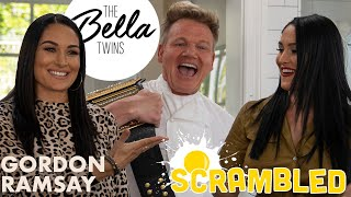 Gordon Ramsay & The Bella Twins Battle it Out For A WWE Belt | Scrambled