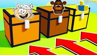 DO NOT CHOOSE THE WRONG CHEST (LOUD HOUSE, FREDDY FAZEBEAR, ROBLOX)(Ps3/Xbox360/PS4/XboxOne/PE/MCPE)