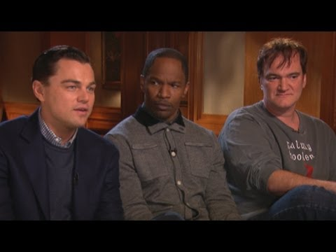 'Django Unchained': Quentin Tarantino, Leonardo DiCaprio, Jamie Foxx Discuss Movie