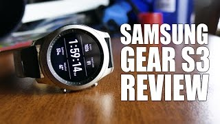 The $300 Samsung Gear S3 Smartwatch Review