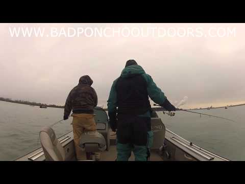 Detroit River Walleye with Jon Witt and Tony Mitchell