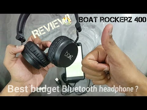 Boat Rockerz 400 (Best Budget On-Ear bluetooth headphone) unboxing and review | Hindi | FaezTech