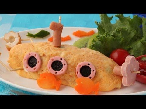 Yellow Submarine Omelette イエロー・サブマリンオムライスの作り方【簡単かわいいキャラ弁レシピ】