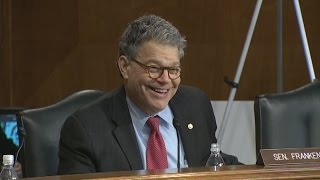 Sen. Franken Takes Spotlight At Trump Cabinet Hearings