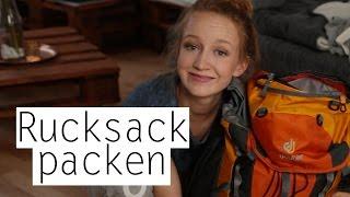 Ich packe meinen Backpack und nehme euch mit! - Rucksack must haves   Mirellativegal
