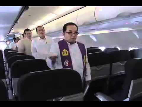 http://rtvm.gov.ph - Blessing of SEAIR Airbus A319