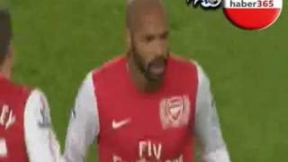 henry new first gol for arsenal
