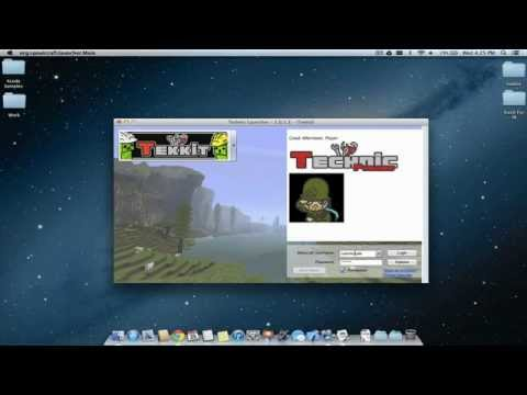 How To Install Tekkit (Technic Pack) on Mac