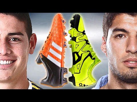 James Rodriguez VS Suarez - Boot Battle: adidas ACE vs X - Test & Review