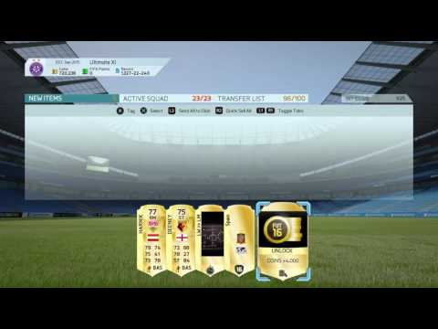 FIFA 16 FUT   A very decent untradable pack!