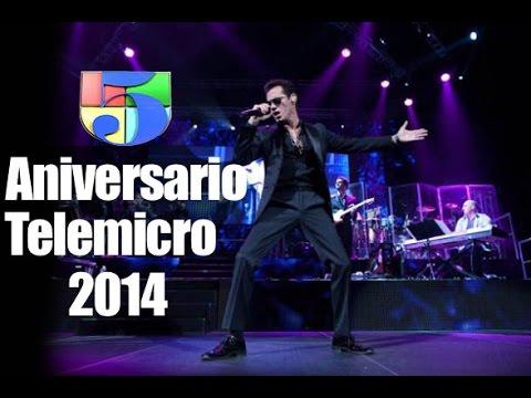 Marc Anthony Fiesta Aniversario Grupo de Medios Telemicro 2014