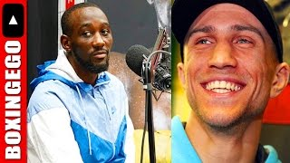 UH-OH! TERENCE CRAWFORD WARNS VASYL LOMACHENKO DA MATRIX
