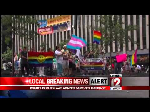 Federal appeals court rules for gay marriage bans