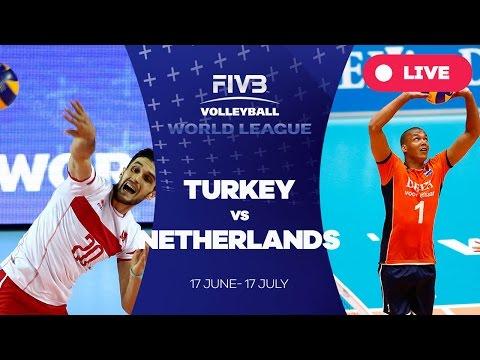 Turkey v Netherlands - Group 2: 2016 FIVB Volleyball World League