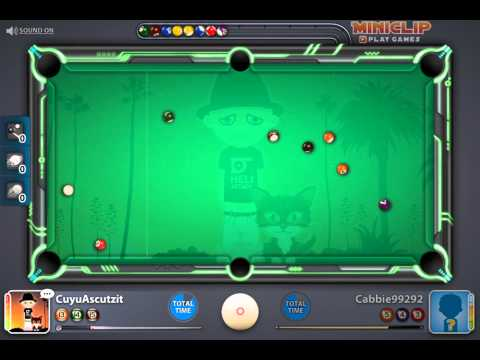 5000 Games Played on Miniclip 8 ball Pool multiplayer