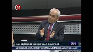 Tekno Analiz | Ahmet Kahveci Sanayici