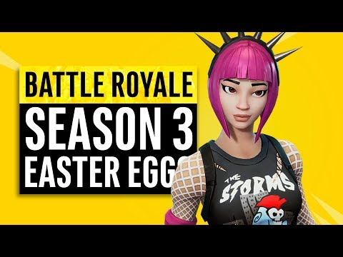 Fortnite Battle Royale   Season 3 Easter Eggs, Memes and References