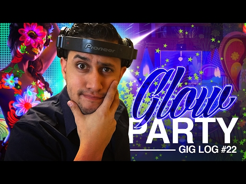 DJ GIG LOG: SWEET SIXTEEN | GLOW IN THE DARK PARTY
