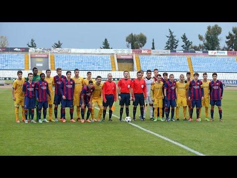 Juvenil A: Apoel - FC Barcelona (2-3, Highlights)