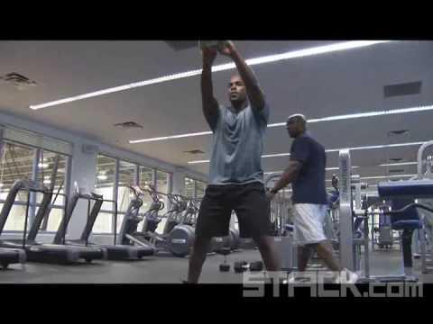 Jimmy Rollins - Kettle Ball Swings
