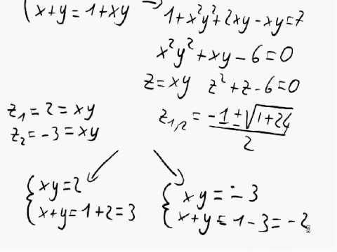 Matematica - Sistemi simmetrici di grado superiore al secondo (es. 2)