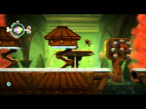 LittleBigPlanet 2 Walkthrough – Hedge Hopping (Da Vinci's Hideout)