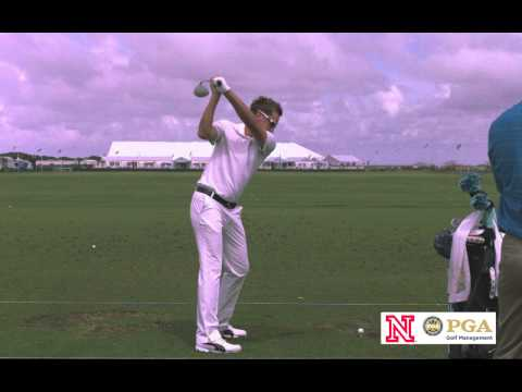 Ian Poulter Slow Motion Golf Swing