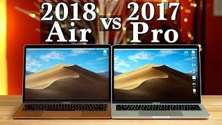 """2018 MacBook Air vs 13"""" MacBook Pro - Which Mac to buy!"""