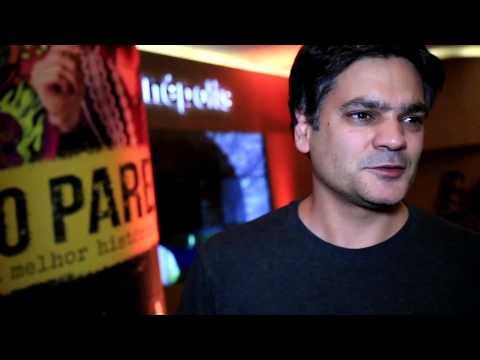 Depoimento de Mauricio Barone na pré-estreia de NÃO PARE NA PISTA