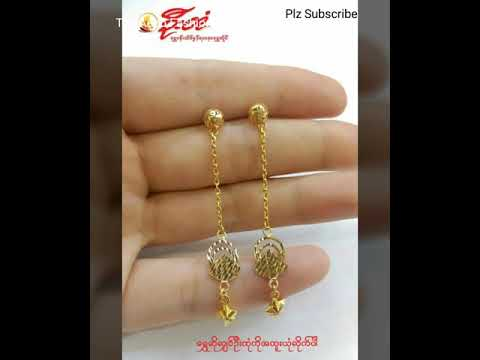 Latest Gold Design Earring