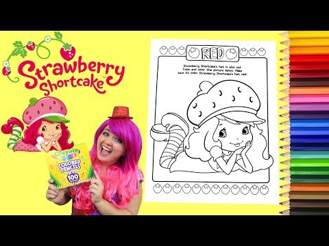 Downloadable strawberry shortcake images for coloring