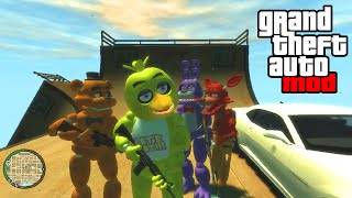 """FIVE NIGHTS AT FREDDY'S MOD!"" - GTA Mods & FNAF 3 Gameplay! (GTA IV PC)"
