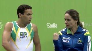 Rio de Janeiro - Test Event - Trampolino maschile individuale