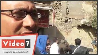 بالفيديو..نائب رئيس حى جنوب الجيزة يروى أسباب انهيار منزل شارع المحطة