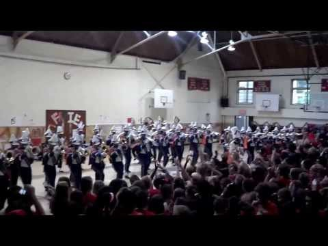 2013 Friends School of Baltimore's Pep Rally (featuring the Morgan State Marching Band)