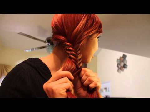 Trenza de Espiga o Cola de Pescado - Fishtail Braid!