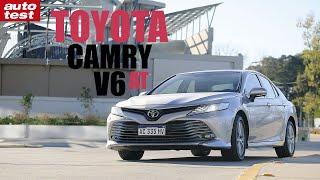 Prueba - Toyota Camry V6 - AutoTest Argentina