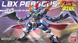 Lắp ráp robot đấu sĩ LBX Perseus Bandai
