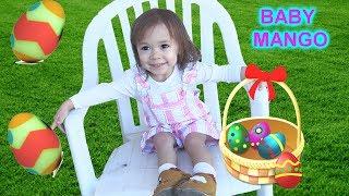 Bé Peanut Và Em Mango Tìm Trứng Phục Sinh / Trứng Bất Ngờ (đồ chơi trẻ em)