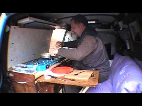How To - Making Corn beef hash in your campervan