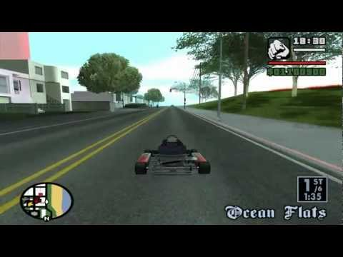 Grand Theft Auto: San Andreas – Race Tournament – Go-Go Karting