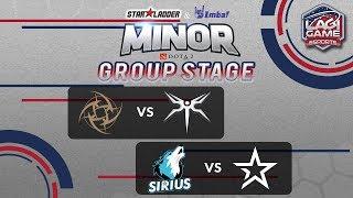 [DOTA2] Mineski VS Team Sirius - StarLadder IMBATV DOTA2 Minor [Ligagame]