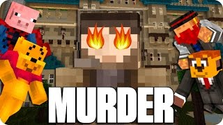 ¡INSTINTO ASESINO! MURDER | Minecraft Con Sara, Luh, Exo Y Macundra