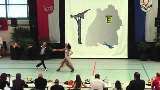 Cornelia Versteegen & Stephan Eichhorn - LM Baden-Württemberg & Hessen 2015