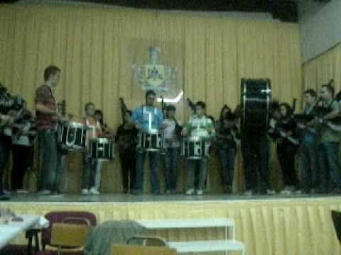 mini concierto de la banda de gaitas y tambores fray pedro s