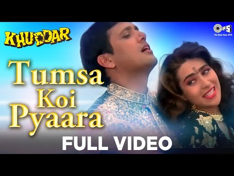 Tumsa Koi Pyaara - Khuddar   Govinda & Karisma Kapoor   Kumar Sanu & Alka Yagnik